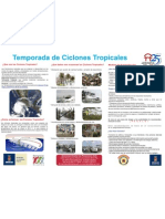 Poster Ciclones 2011