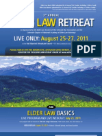 3rd Annual Elder Law Retreat
