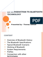 Bluetooth Technologies