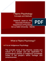 Filipino Psychology - Concepts and Methods