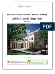 Andover Library Audit
