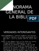 Panorama General de La Biblia 1