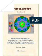 Manual Musicolorsoft