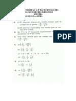 soluciones algebra
