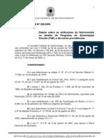 resolução CFN 358