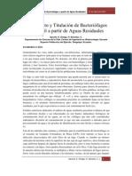 AISLAMIENTO Y TITULACIÓN DE FAGOS