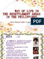 Aetas Way of Life in the Resettlement Areas
