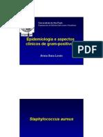 Gram Positivos Epidemiologia Aspectos Clinicos