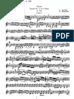 Mozart - Quartet No. 23 in F Major (violin2)