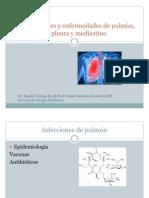 Infecciones y Enfermedades de Pulon Pleura y Medias Ti No