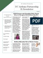 DCAP Newsletter Spring 2011