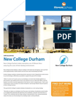 Phoenix Software Case Study - New College Durham