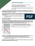 GUIA- Ejercicios Farmacocinética