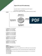 01. Configure IPv4 and IPv6 Addressing