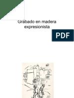 Grabado en Madera Expresionista
