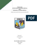 MAKALAH PKN Sistem PEradilan InterNAsional