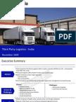 Third Party Logistics India Sample