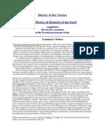 History of the Tartars