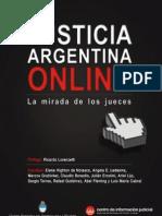 La Justicia Argentina Online