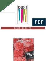 AGENDA – AGOSTO 2011