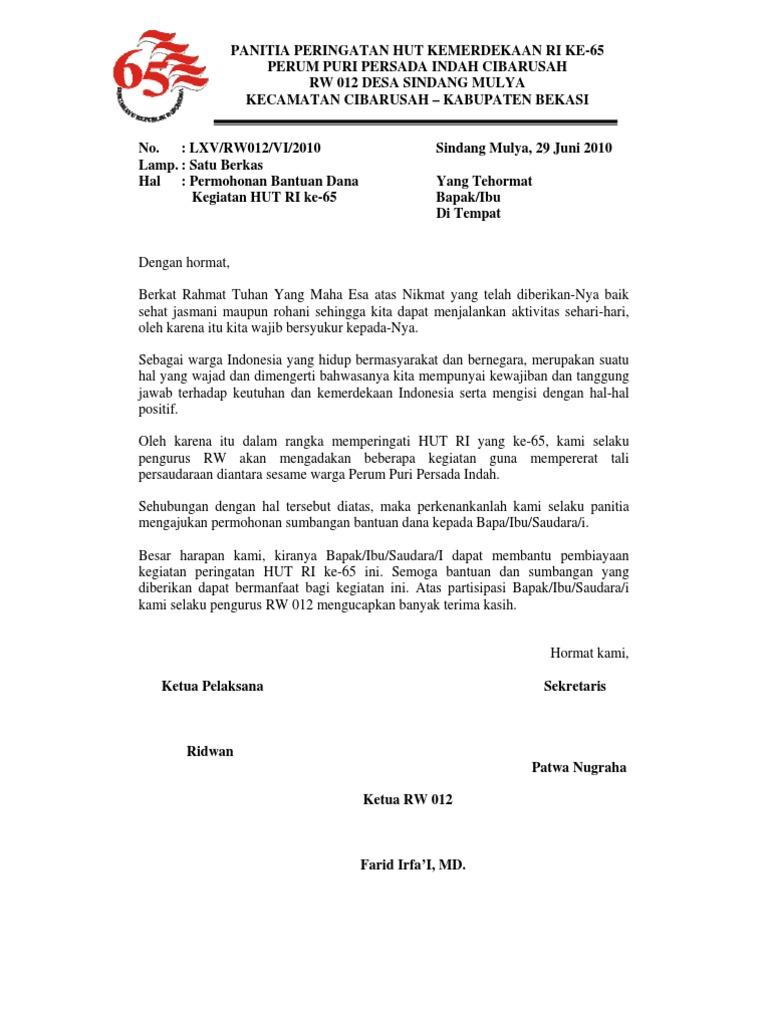 Contoh Proposal Kegiatan Hut Ri Di Desa Nusagates