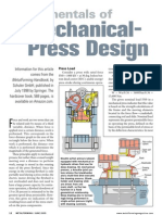 Fundamentals of Mechanical Press Design