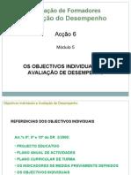 3 Objectivos Individuais e Auto-Avalaliação Capa is