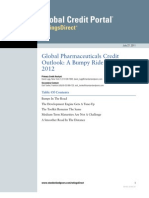 S&P_GlobalPharmaceuticalsCreditOutlookABumpyRideThrough2012