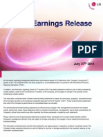LGE.2Q11 Earnings Presentation