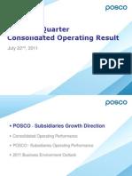POSCO.2Q11 Results