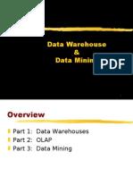 data warehouse,olap and data mining