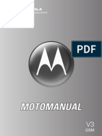 Mot Razr v3 User Guide