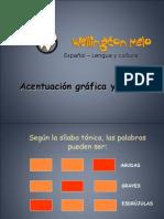 Acentuación gráfica y silabeo