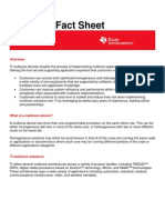Texas Instruments Multi Core Factsheet