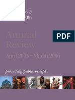 Annual Review - April 2005 – March 2006