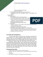 Propagasi Dan Fiber Optik