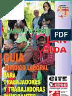 Guía jurídico laboral para trabajadores y trabajadoras inmigrantes