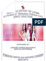 Final Project Report on Lakme