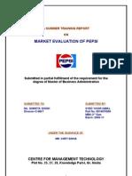 3209. Market Evaluation of Pepsi