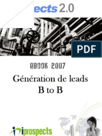 Prospects 2.0 Generation Leads b to b 2007