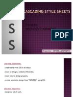 Crash Course to Web Development - CSS