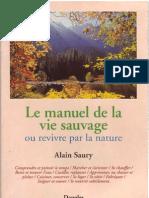 Le Manuel de La Vie Sauvage