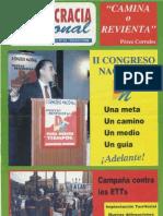 Democracia Nacional nº 14 - Mayo 1.998