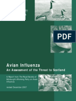 Avian Influenza An Assessment of the Threat to Scotland