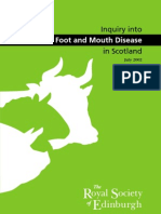 Foot and Mouth Disease in Scotland