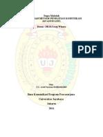 Tugas Metodelogi Penelitian Komunikasi (Kuantitatif ) Program Pasca Sarja Univ Jaya Baya
