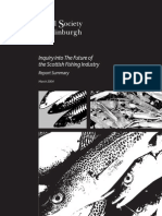 Summary - The Future of the Scottish Fishing Industry