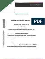 Land Registry Information
