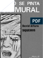 Como Se Pinta Un Mural by David Alfaro Siqueiros