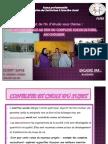 rapport de projet de fin d'étude sous théme l'action sociale au sein du complexe AIN CHOUBIK réalisé par ECHRITI SAFAE